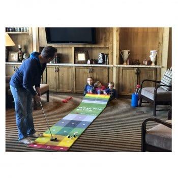 EyeLine Golf Putting Challenge Mat