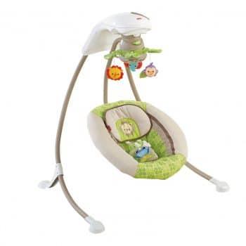 Deluxe Cradle 'n Swing, Rainforest Friends