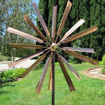 Oriental Touch Wind Sculpture