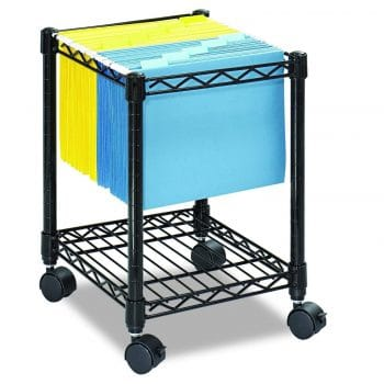 Safco Products Compact File Cart