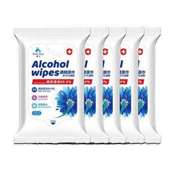 Kimryde Alcohol Detergent Wipes 50 Wipes Pack of 5