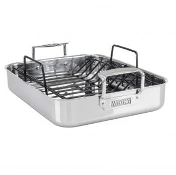 Viking Culinary 4013-5016 3-Ply Roasting Pan