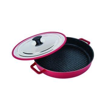 MasterPan Non-Stick Stovetop Grill Pan