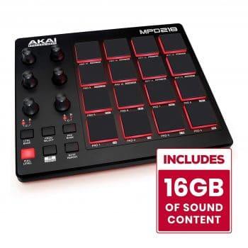 AKAI Professional Portable Pad Controller