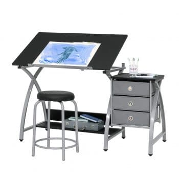 SD STUDIO DESIGNS Hobby Drawing 36 x 23.75-inches Table