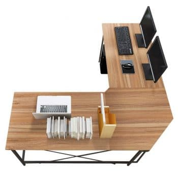 Soges Large L-Shaped desk [59 by 59 inches]