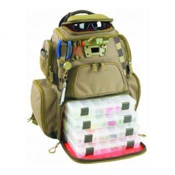 Custom Leathercraft Fishing backpack