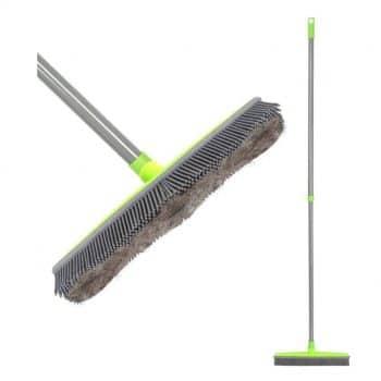 LandHope Push Broom Carpet Rake
