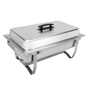 Sterno Products Foldable Frame Chafing Dish 8 Quartz