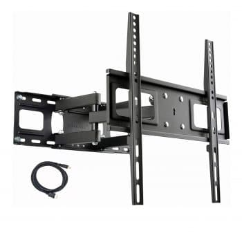 VideoSecu MW340B2 Full Motion Swivel Articulating TV Wall Mount
