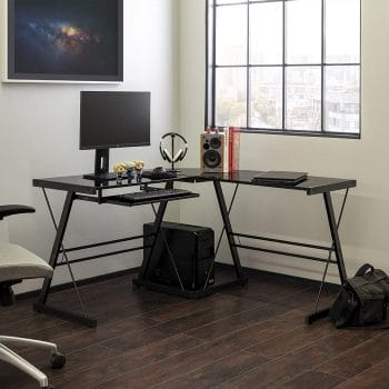 Walker Edison L-shaped desk