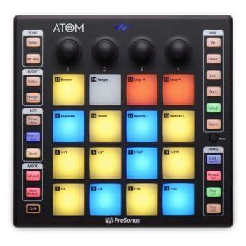PreSonus ATOM Production Pad Controller