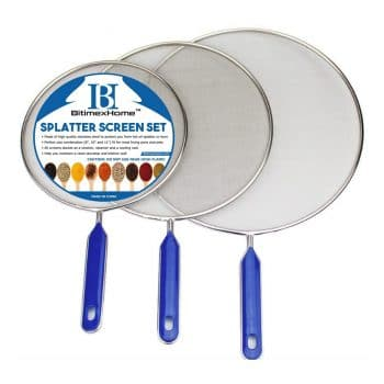 Grease Splatter Screen for Frying Pan
