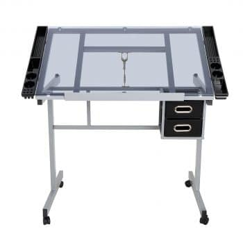 JupiterForce Adjustable Drafting Table for Reading Writing