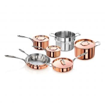 Artaste Copper Cookware Set