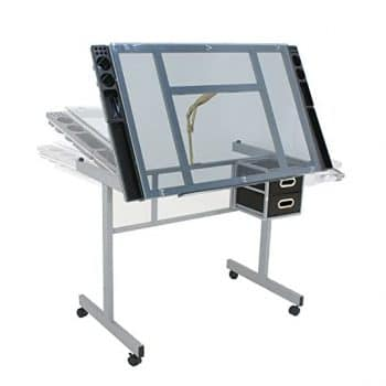 Nova Microdermabrasion Adjustable Drafting Drawing Glass Table
