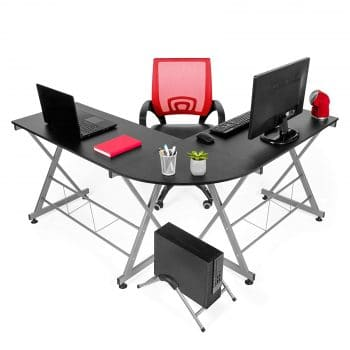 Best Choice Products L-Shaped Workstation