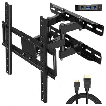 Everstone Full Motion Articulating TV Wall Mount