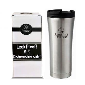 Lasting Coffee Leak Proof Double Wall Stainless Steel Travel Mug