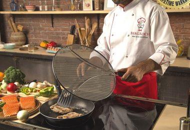Splatter Screen for Frying Pan
