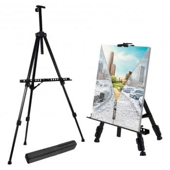 "T-Sign 66"" Reinforced Thick Aluminium Drawing Artist Easel Stand"