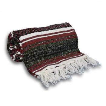 YogaAccessories Mexican Yoga Blanket