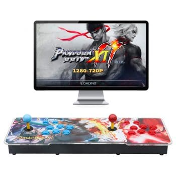 Best brose Arcade Game Console Pandora 3D Double Stick Arcade Game