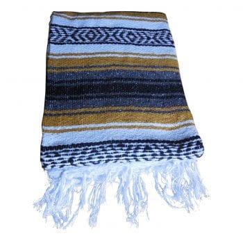 El Molcajete Brand Mexican Blanket