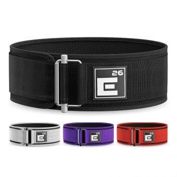 Self-Locking Weight Lifting Belt