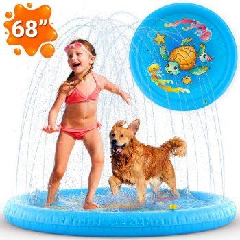 Zen Laboratory Inflatable Splash Pad Sprinkler for Kids