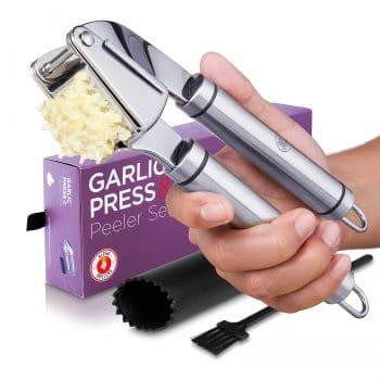 Alpha Grillers Rust Proof Garlic Press