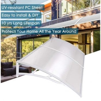 Yescom 79x40 inches Window Door Outdoor Awning Canopy Patio Cover