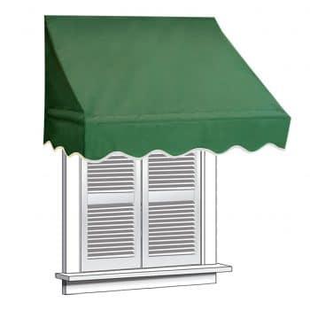 ALEKO 4x2 inches Window Green Awning Door Canopy