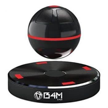 B4M ORB-Dark Black Bluetooth 4.1 Levitating Maglev Speaker