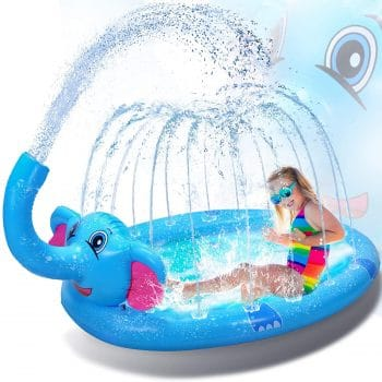 Ganapoco 3 in 1 Inflatable Sprinkler Pool