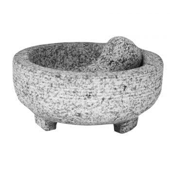 Vasconia 4-Cup Granite Mortar and Pestle
