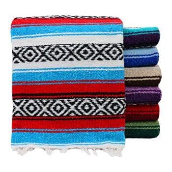 threads west Genuine Mexican Blanket