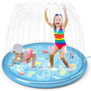 Jasonwell 60 Summer Outdoor Sprinkler for kids