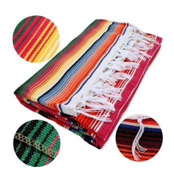OurWarm 59 x 84 Inch Mexican Blanket