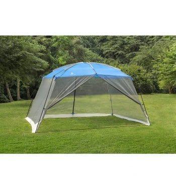 ALPHA CAMP 13'X9' Blue Camping Screen House