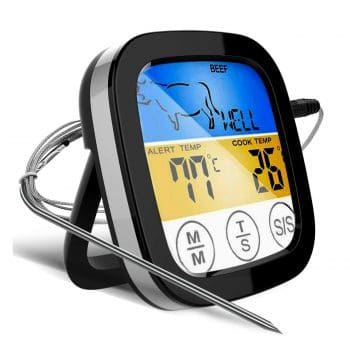 Digital TouchScreen Food Thermometer