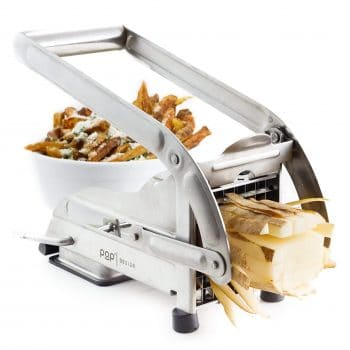 POP AirFry Mate Stainless Steel French Fry Cutter 2 Blade Sizes