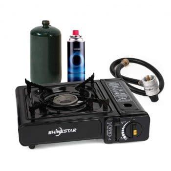 SHINESTAR Portable Propane and Butane Gas Stove