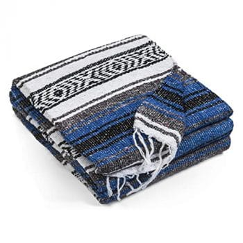 Topaz Hill Authentic Mexican Blanket