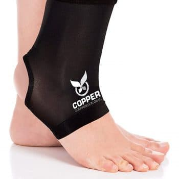 Copper Compression Premium Fit Recovery Support Ankle Brace