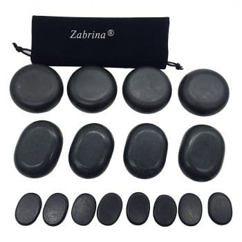 Zabrina Big Hot Stones Set Massage