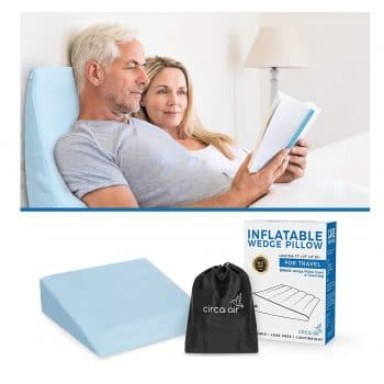 Circa Air Inflatable Pillow - Easy Inflation Deflation