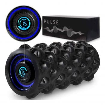 CubeFit Pulse 8 Speed Rechargeable Vibrating Foam Roller