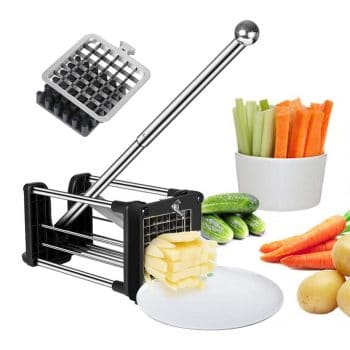 Votron French Fries Cutter with Two Blades