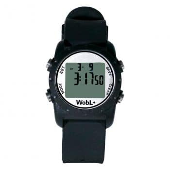 WobL+ Waterproof Vibrating 9 Alarms Countdown Timer Wristwatch
